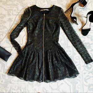 RACHEL Rachel Roy Lace Cocktail Dress